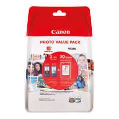 View more details about Canon PG-560XL/CL-561XL Ink Photo Value Pack - High Capacity 3712C004