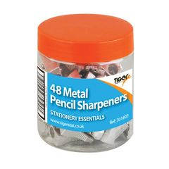 View more details about Metal Single Hole Pencil Sharpeners (Pack of 48) 301803