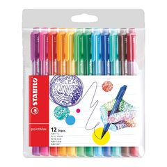 View more details about STABILO Assorted PointMax Fineliner Pens, Pack of 12 - 488/12-01