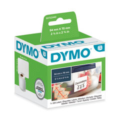 View more details about Dymo 57 x 32mm White LabelWriter Labels, Pack of 1000 - S0722540