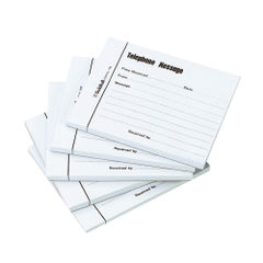 View more details about Exacompta Guildhall Telephone Message Pad 100 Sheet 127x102mm (Pack of 5) 1571