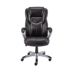 View more details about Giuseppe Black Bonded Leather Executive Office Chair - 28998