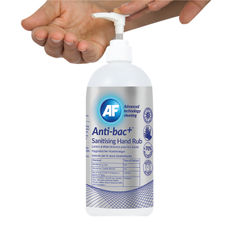 View more details about Anti-Bac Sanitising Hand Rub Gel 500ml (Pack of 6) - ABHHR500