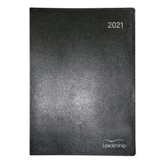View more details about Collins Leadership Diary Week to View Appointment A4 Black 2021 CP6740