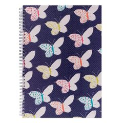 View more details about NEON BLOOM A4 NOTEBOOK BUTTERFLIES