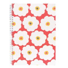 View more details about CORAL BLOOM A4 NOTEBOOK LARGE FLOWER