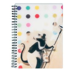 View more details about Go Stationery Banksy A5 Rat Notebook – 5NC102