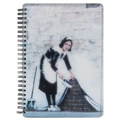 View more details about Go Stationery Banksy A5 Camden Maid Notebook – 5NC106