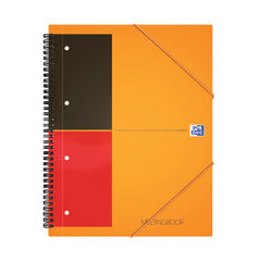 View more details about Oxford International A4 Plus Wirebound Polypropylene Meeting Book 100104296