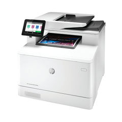 View more details about HP Color LaserJet Pro M479fdn Multifunction Printer White W1A79A