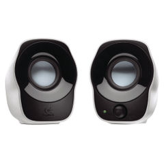 View more details about Logitech Z120 Silver/Black Stereo Speakers 980-000513