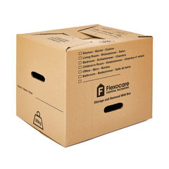 View more details about Flexocare Mini Removal Box 400 x 320 x 330mm (Pack of 10) 9751BUC01