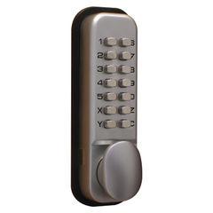 View more details about Lockit Chrome Mechanical Push Button Digital Lock - DXLOCKITHB/C
