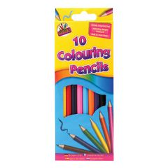 View more details about Artbox 10 Full Size Colour Pencils (Pack of 10) 5120