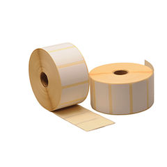 View more details about Zebra 27.2 x 31.8mm 2000D Desktop Printer Label Paper, Pack of 12 - 800262-125
