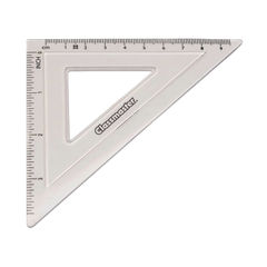 View more details about Classmaster 45 Degree Set Square Clear (Pack of 30) S45/30