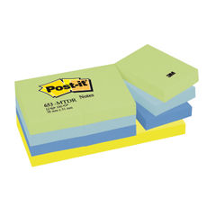 View more details about Post-it 38 x 51mm Dream Notes, Pack of 12 - 653MT