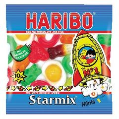 View more details about Haribo 20g Mini Bags Starmix, Pack of 12 - 72443