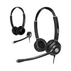 View more details about JPL Radius Aero 2-in1 Convertible Binaural Headset And Microphone Headband NC Bundle AEROBINBUNDLE