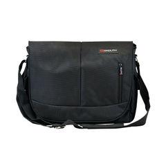 View more details about Monolith Black Courier Messenger Bag – 3203