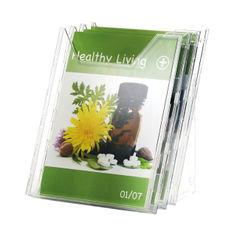 View more details about Durable Combiboxx Portrait Literature Holder, Transparent 3 X A4 8580/19