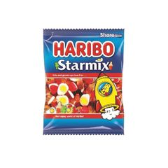 View more details about Haribo 140g Bags Starmix, Pack of 12 - 730730