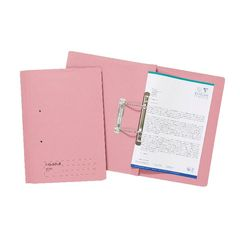 View more details about Exacompta Guildhall Transfer File 285gsm Foolscap Pink (Pack of 25) 346-PNKZ