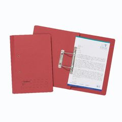 View more details about Exacompta Guildhall Transfer File 285gsm Foolscap Red (Pack of 25) 346-REDZ