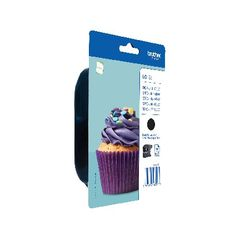 View more details about Brother LC123BK Black Ink Cartridge LC-123BK