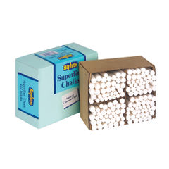 View more details about Stephens Tapered Chalk Stick White (Pack of 144) RS522553