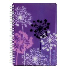 View more details about SKETCHED FLORAL A5 NOTEBOOK ALLIUM