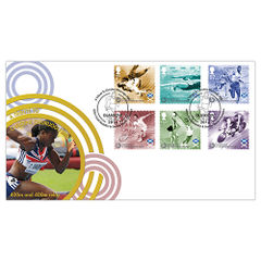 View more details about Glasgow 2014 Commonwealth Games Stamps First Day Cover - BC509