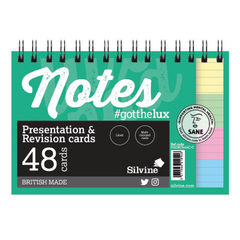 View more details about Silvine Revision Presentation/Note Card Twin Assorted (Pack of 10) PADRC64AC-C