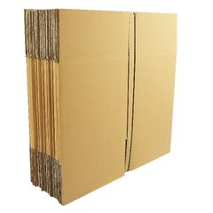View more details about Double Wall 305x305x305mm Corrugated Cardboard Boxes, Pack of 15 - SC-12