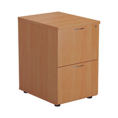 View more details about Jemini V2 710mm Beech 2 Drawer Filing Cabinet