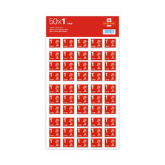 View more details about 1st Class Large Postage Stamps, Sheet of 50 - SLDN1