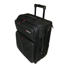 View more details about Monolith Black Wheeled Laptop Overnight Case for Laptop to 15.4