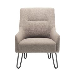 View more details about Jemini Grey Reception Armchair