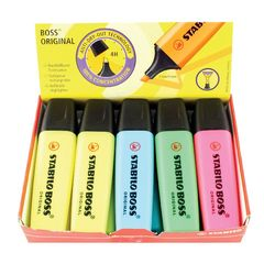 View more details about STABILO BOSS Original Assorted Highlighters, Pack of 10 - 70/10-1