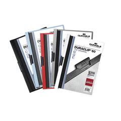 View more details about Durable Assorted A4 6mm Duraclip File, Pack of 25 - 2209/00