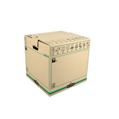 View more details about Bankers Box SmoothMove Large Brown/Green Moving Boxes, Pack of 5 - 6205301
