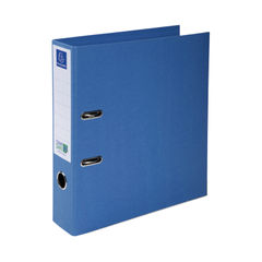 View more details about Exacompta A4 Blue 70mm Clean Safe Lever Arch File - 53222E