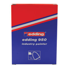 View more details about edding 950 Yellow Medium Industry Paint Markers, Pack of 10 - 950-005