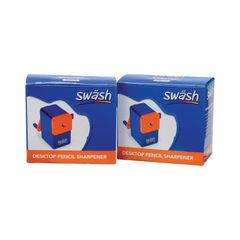 View more details about Swash Desktop Pencil Sharpener (Pack of 2) EG841001