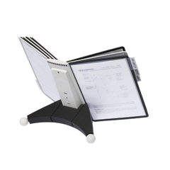 View more details about Durable Grey and Black Sherpa Desk Unit 10 - 5632-22