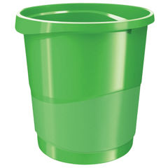 View more details about Rexel Choices Green Waste Bin - 2115621
