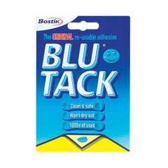 View more details about Bostik Blu-Tack Handy Pack 60g Single 801103