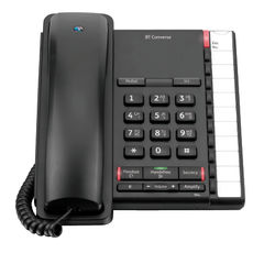View more details about BT Converse 2200 Corded Phone Black 040208