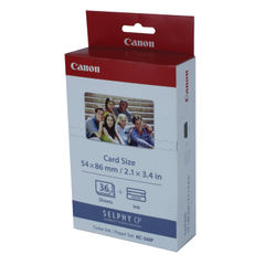 View more details about Canon KC-36IP Color Inkjet Cartridge and Label Set 7739A001
