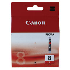 View more details about Canon CLI-8R Red Ink Cartridge - CLI-8R